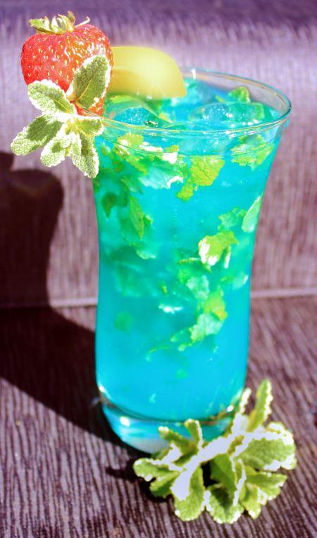 Exotic Blue Hawaiin